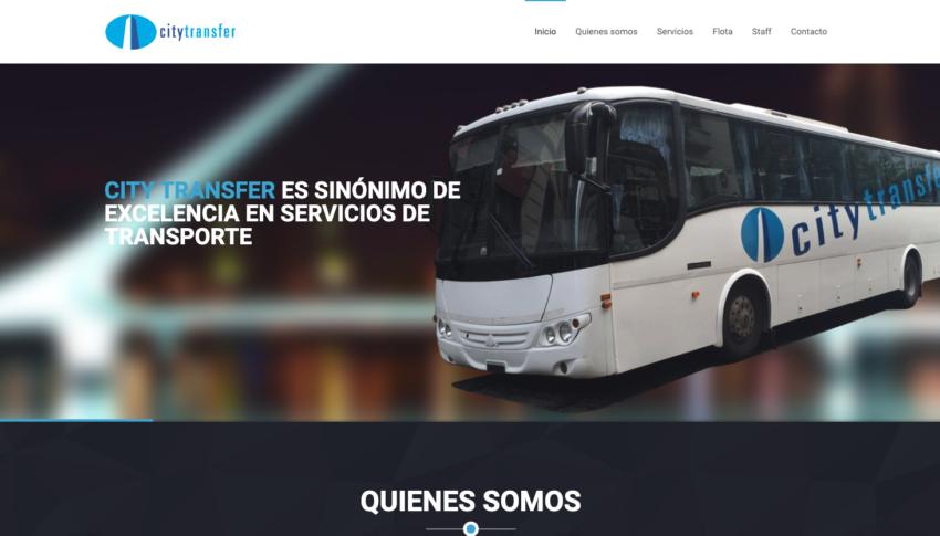 City Transfer Empresa de transporte de personal www.citytransfer.com.ar