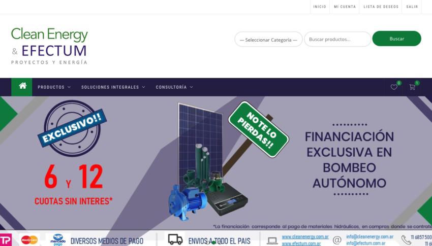 Clean Energy & Efectum Proyectos y energía www.cleanenergyefectum.com.ar