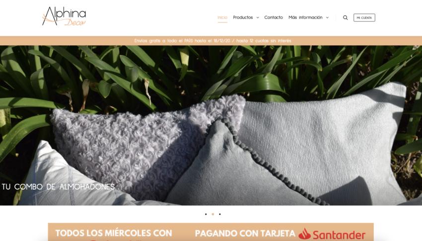 Alphina DecoArtículos de diseño y decoraciónwww.alphinadeco.com.ar